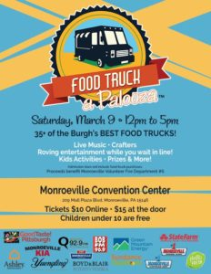 Food Truck A Palooza @ Monroeville Convention Center | Monroeville | Pennsylvania | United States