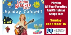 Laurie Berkner Holiday Spectacular @ Monroeville Convention Center | Monroeville | Pennsylvania | United States