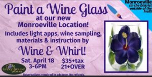 Paint a Wine Glass at Greenhouse Winery @ Greenhouse Winery - The District at Monroeville Mall