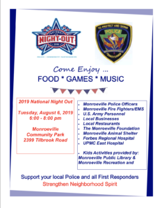 National Night Out @ Monroeville Community Park