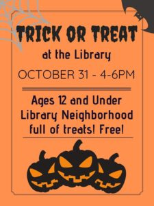 Trick-or-Treat at the Library @ Monroeville Public Library | Monroeville | Pennsylvania | United States