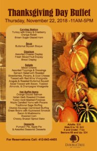Thanksgiving Day Buffet @ DoubleTree Hotel | Monroeville | Pennsylvania | United States